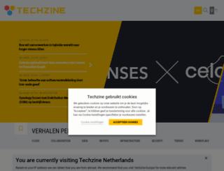 msn.techzine.nl screenshot
