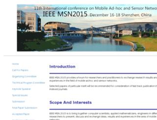 msn2015.hitsz.edu.cn screenshot
