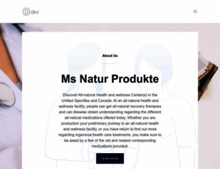 msnaturprodukte.de screenshot