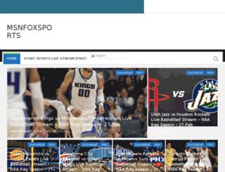msnfoxsports.org screenshot