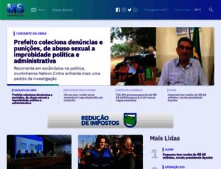 msnoticias.com.br screenshot