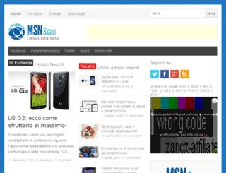 msnscan.com screenshot