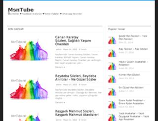 msntube.net screenshot