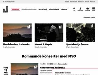 mso.se screenshot