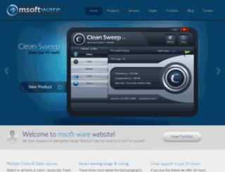 msoft-ware.com screenshot