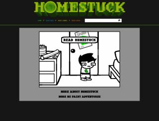 mspaintadventures.com screenshot