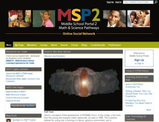 msportal-2.ning.com screenshot