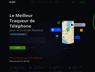 mspy.fr screenshot