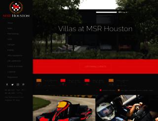msrhouston.com screenshot