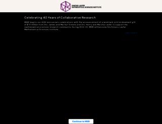 msri.org screenshot