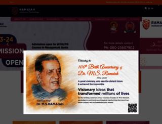 msrit.edu screenshot
