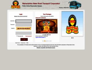 msrtcors.com screenshot