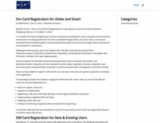 msrtonline.com screenshot