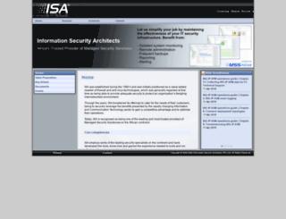 mss.isa.co.za screenshot