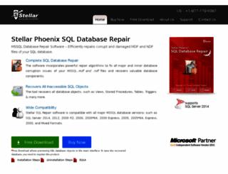 mssqldatabaserecovery.com screenshot