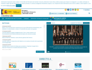 msssi.gob.es screenshot