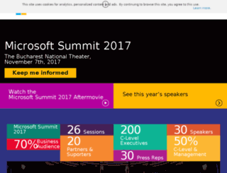 mssummit.ro screenshot