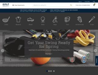 mstage.golfsmith.com screenshot