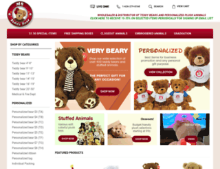 msteddybear.com screenshot