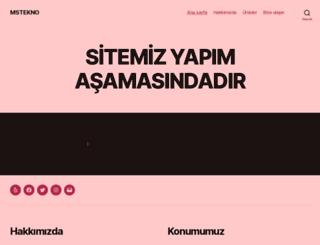 mstekno.com screenshot