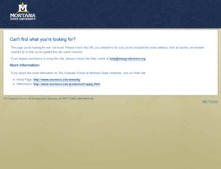 msugradschool.org screenshot