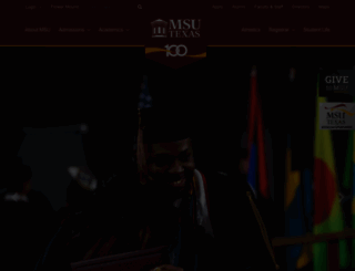 msutexas.edu screenshot