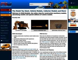 msw-modelle.com screenshot
