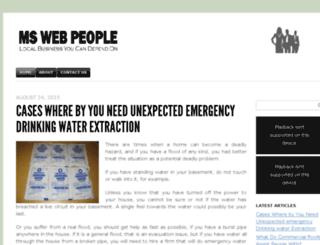mswebpeople.com screenshot