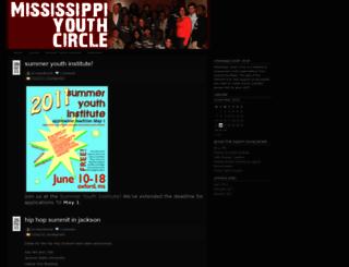 msyouthcircle.wordpress.com screenshot