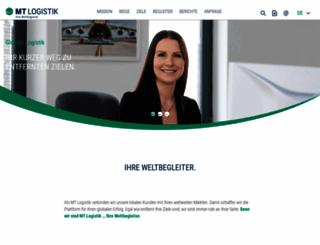 mt-logistik.de screenshot