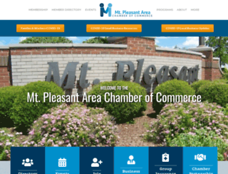 mt-pleasant.net screenshot