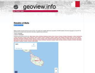 mt.geoview.info screenshot