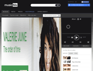mt.musicme.com screenshot