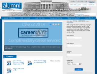 mtalumni.com screenshot