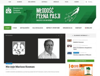 mtb.azs.pl screenshot