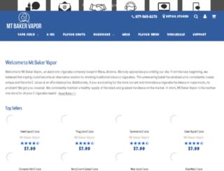 mtbakervapor.net screenshot