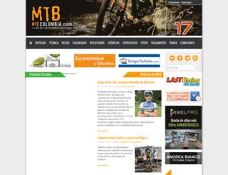 mtbcolombia.com screenshot