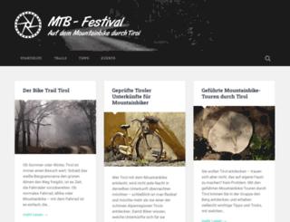 mtbfestival.at screenshot