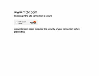 mtbr.com screenshot