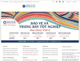 mtcn.vanlanguni.edu.vn screenshot