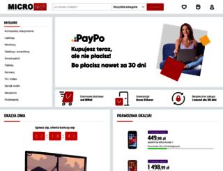 mtech.pl screenshot