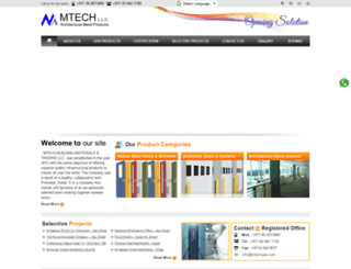 mtechuae.com screenshot