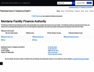 mtfacilityfinance.com screenshot