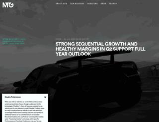 mtg.com screenshot