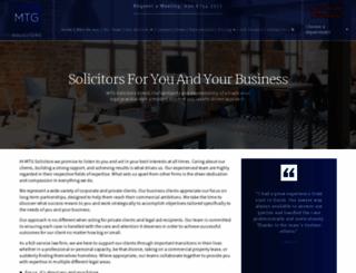 mtgsolicitors.com screenshot