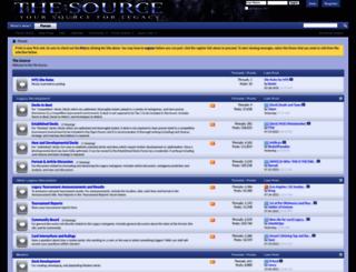mtgthesource.com screenshot