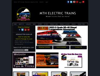 mth-railking.com screenshot