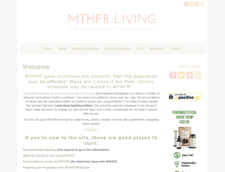 mthfrliving.com screenshot