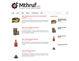 mthruf.com screenshot