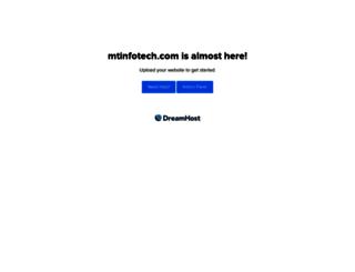 mtinfotech.com screenshot